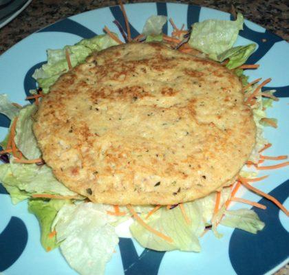 Tortita de atún