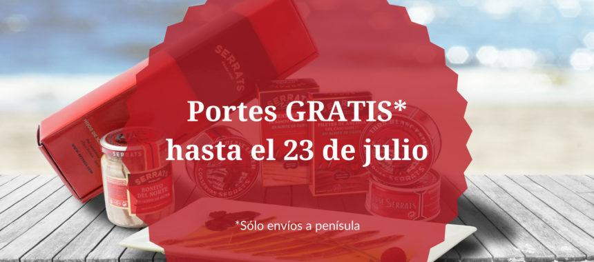 Portes gratis en Serrats, ¡disfruta del verano con nuestras conservas gourmet!