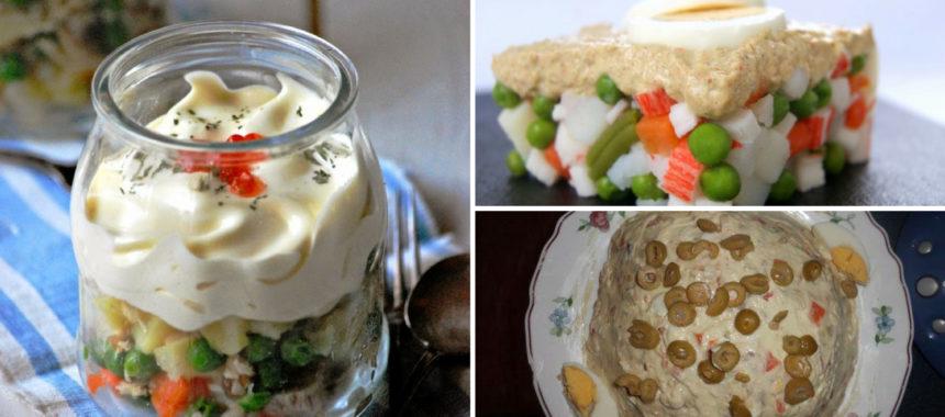 7 recetas de ensaladilla rusa