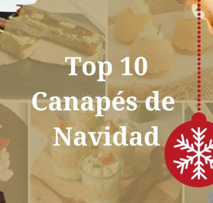 Canapés de Navidad: Top 10
