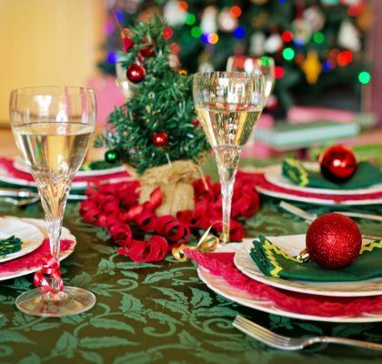 Mesa de Navidad. Consejos para cuidarnos en Navidad