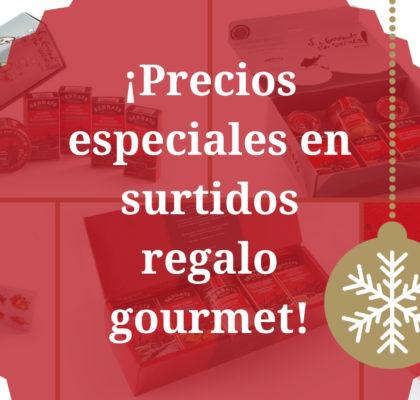 Oferta cajas regalo Serrats