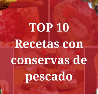 Recetas con conservas de pescado Top 10