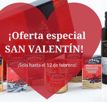 Caja regalo especial San Valentín