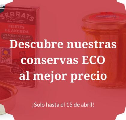 Oferta Conservas Ecológicas
