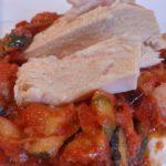 Fritada de verduras con atún claro