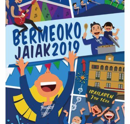 Cartel de fiestas de Bermeo 2019