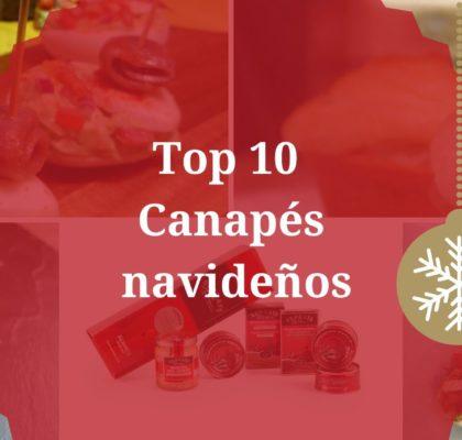 Canapés navideños Top 10