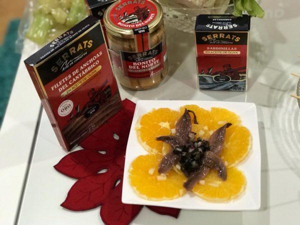 Ensalada de naranja y anchoas