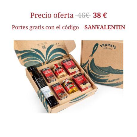 Caja San Valentín Serrats