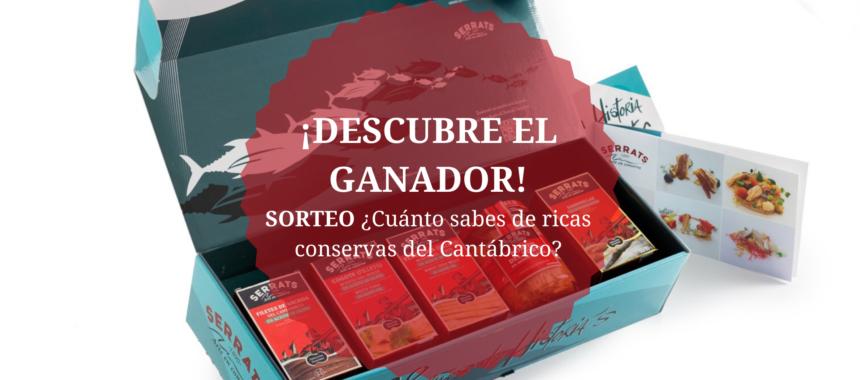 SORTEO «¿Cuánto sabes de ricas conservas del Cantábrico?» ¡Ya tenemos ganador!