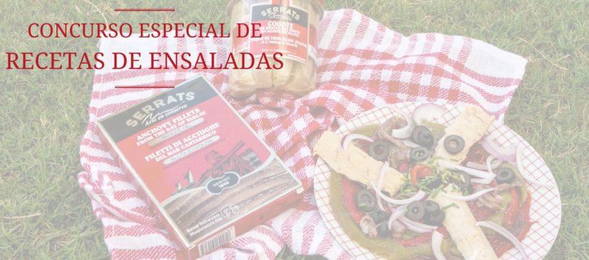 Concurso de recetas de ensaladas en La Cocina de Serrats