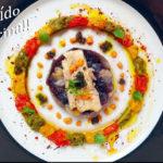 Ensalada de pimientos tricolor asados con bonito