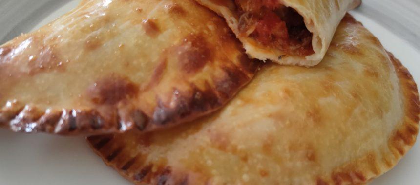 Empanadillas de sardinillas al horno
