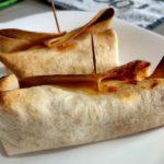 Burritos al horno con atún claro («pizzaritos»)