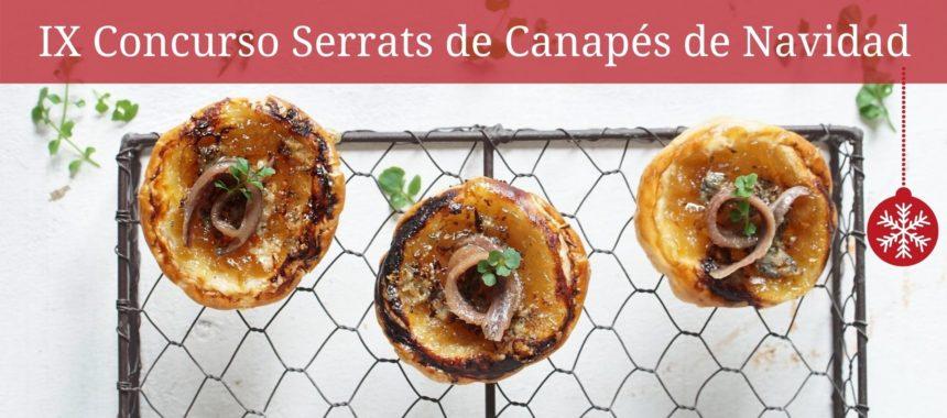 ¡Gana deliciosos premios en el IX Concurso de Canapés de Navidad!