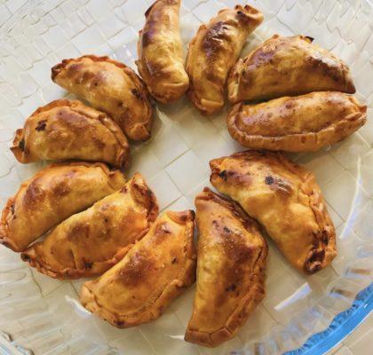 Empanadillas de atún y mejillones
