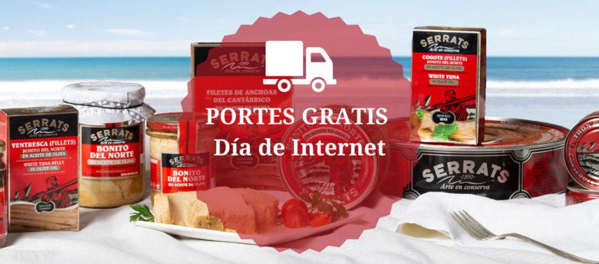 Día de Internet 2021: ¡4 días de PORTES GRATIS!