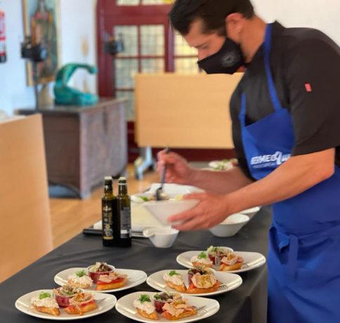 Taller de pintxos en Bermeo Tuna Tasting