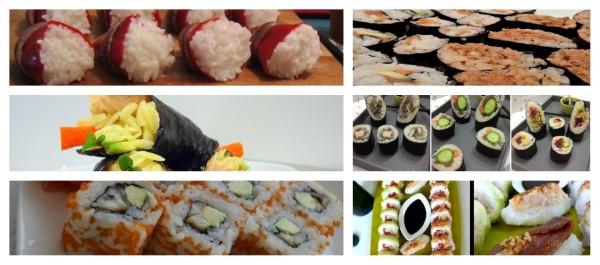 Recetas de sushi con conservas de pescado