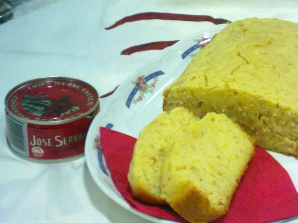 Cake de bonito del norte de Conservas Serrats