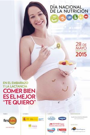 Cartel del Día Nacional de la Nutrición 2015
