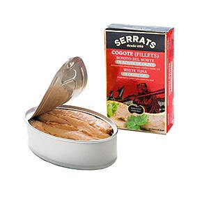Descripción del producto Descripción: Lata (estuche) 120g. Peso neto: 115g Peso escurrido: 81g Referencia: OL120 Cogote de Bonito del Norte en aceite de oliva