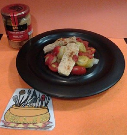 Ensalada marmitako de bonito