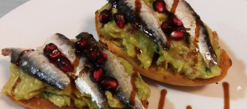 10 pintxos con conservas de pescado