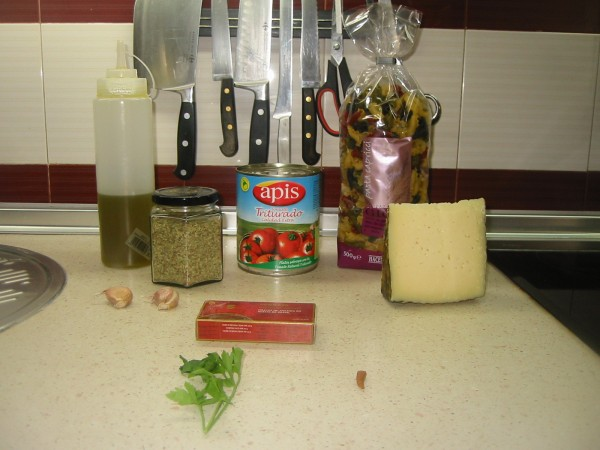 Ingredientes Pasta capricci alla puttanesca