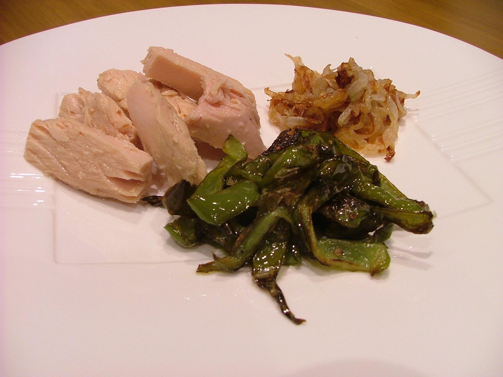 Presentación del plato final