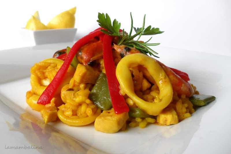Paella con mejillones extra grandes de Conservas Serrats