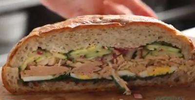 El sandwich para salir de excursión