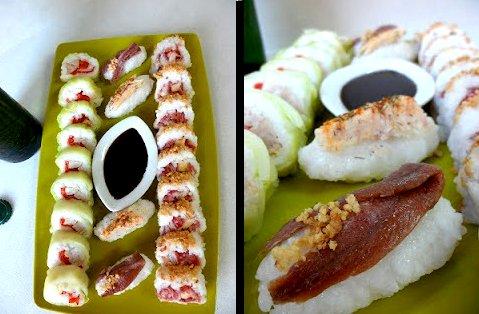 Nigiri-sushi ibérico