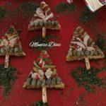 Canapés de Navidad: Arbolitos navideños de Bonito del Norte