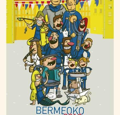 Cartel de fiestas de Bermeo