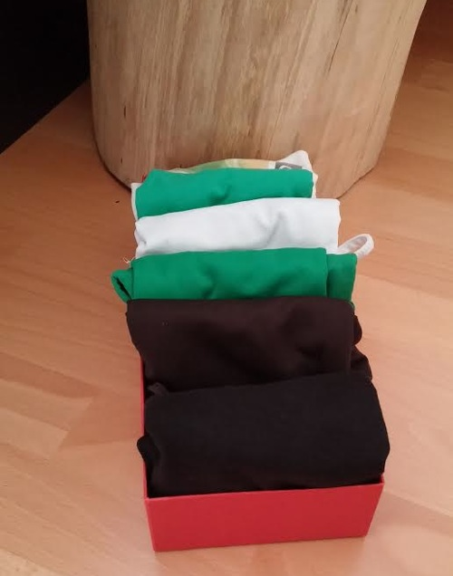 Caja para camisetas interiores