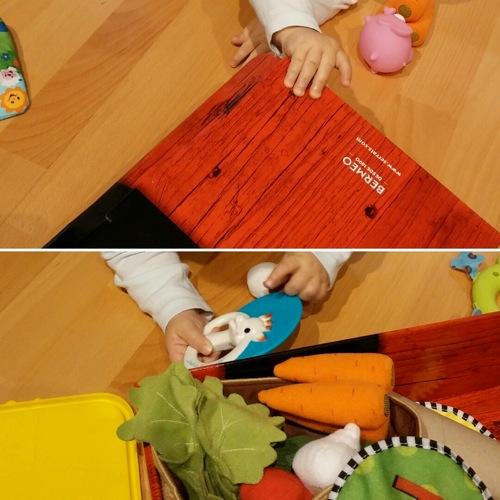 Caja para los juguetes