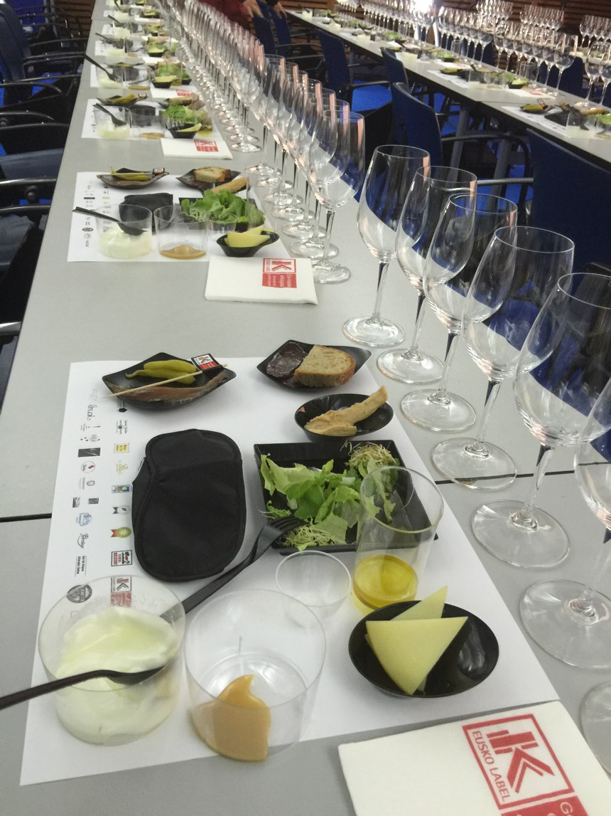 Cata Artística en San Sebastian Gastronomika