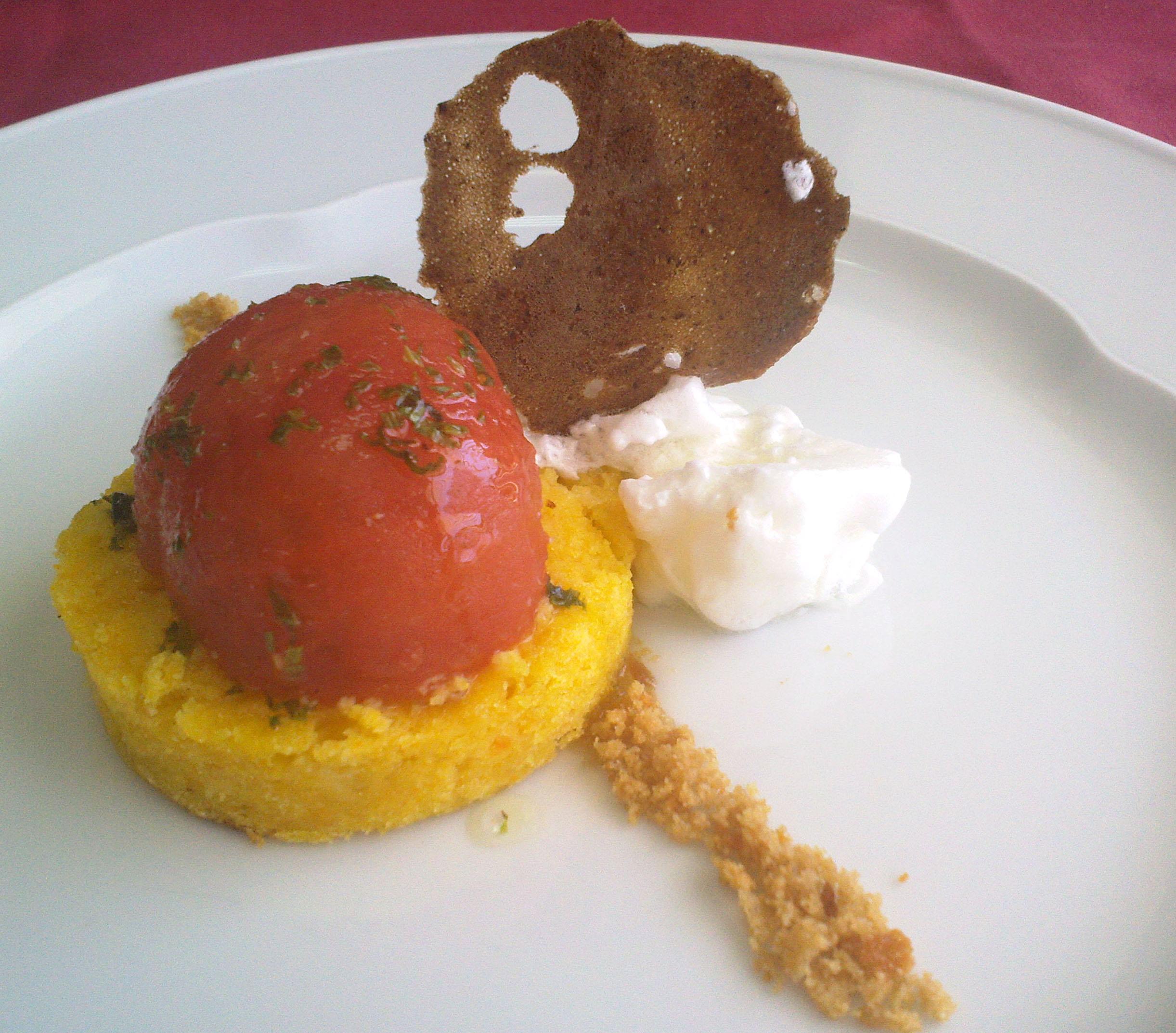 Cúpula de tomate y Atún