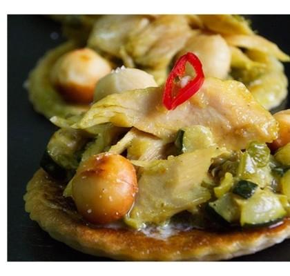 Curry de ventresca de bonito