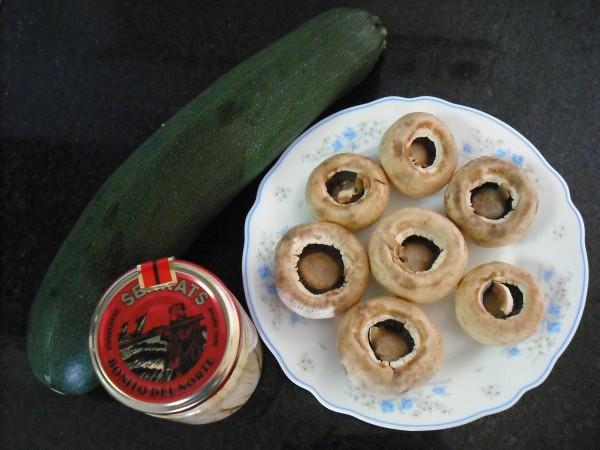Ingredientes para estos bocaditos con Bonito del Norte