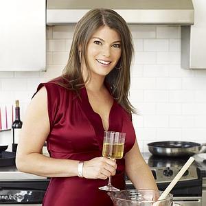 Gail Simmons cocina con Serrats