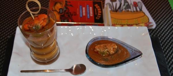 Gazpacho de mejillones