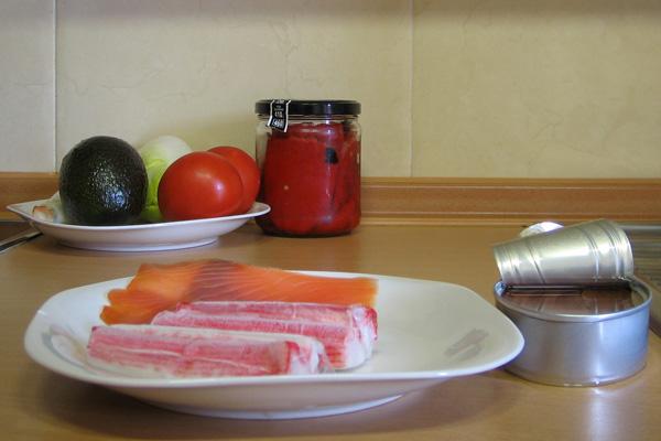 Ingredientes sencillos para una gran ensalada