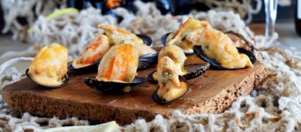 Mejillones Serrats en tempura