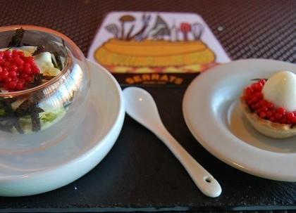 NIdos de caviar de oricios