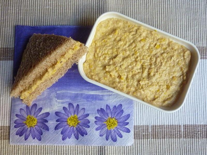Pasta para sandwich (de atún y maíz)