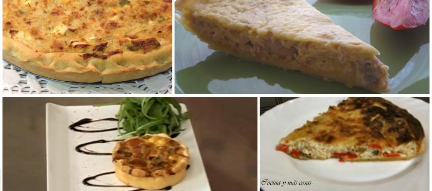 7 recetas de quiche con conservas de pescado
