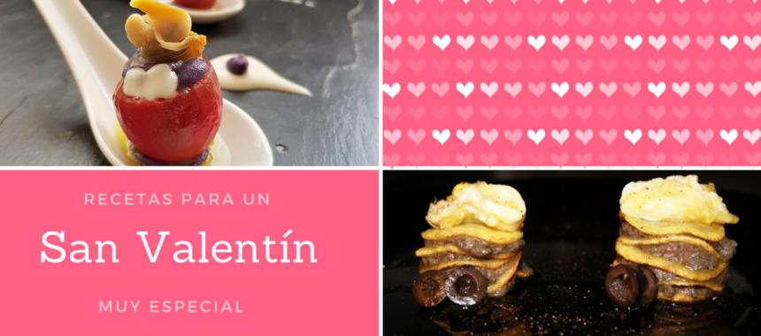 10 recetas para San Valentín ❤️❤️❤️
